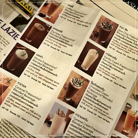How To Order Coffee At Starbucks Thailand Prices
