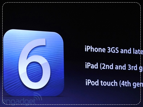iPhone 3GS / iPhone 4 / iPhone 4S Upgrade to iOS 6