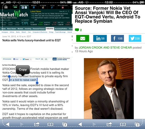 Vertu good bye nokia symbian move to android for Nokia ceo denies moving to android