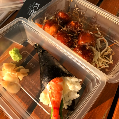 kobe-steakhouse-review-free-japan-food-delivery-ubereats-bangkok-takoyaki-california-ebi