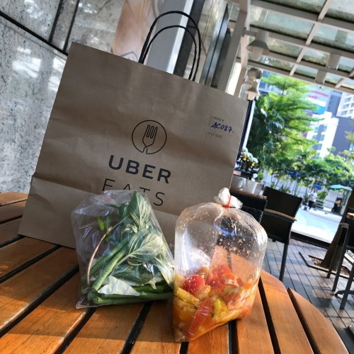 somtum-convent-hai-review-ubereats-free-thai-food-delivery-corn-salted-egg-how-to-order-bag