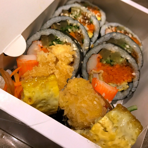 ubereats-review-food-delivery-tiger-topoki-free-promocode-how-to-order-futomaki-kimbap-korea