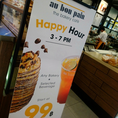 au-bon-pain-thai-lunchset-bakery-scone-june-2017-99-baht-lemon-tea-coffee-vs-starbucks-review-happy-hours