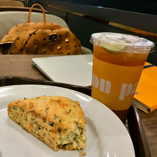 au-bon-pain-thai-lunchset-bakery-scone-june-2017-99-baht-lemon-tea-coffee-vs-starbucks-review-mcm