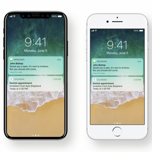 ios11-review-beta-developer-wwdc2017-iphone-8-vs-7s-compare-home-sea-edgeless-display