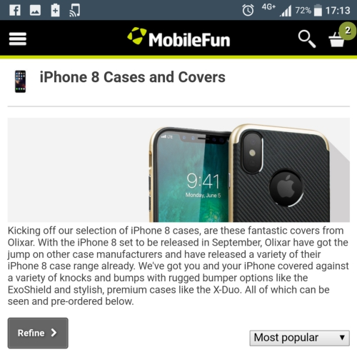iphone-8-x-decade-edition-mobilefun-uk-leakedcase-accessories-cover-bumper-sale-olixar-delivery
