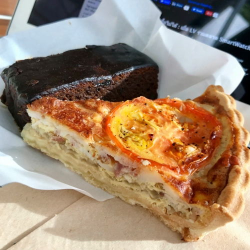 holey-artisan-thai-uk-bakery-cake-review-free-ubereats-promocode-gingerbread-bacon-quiche
