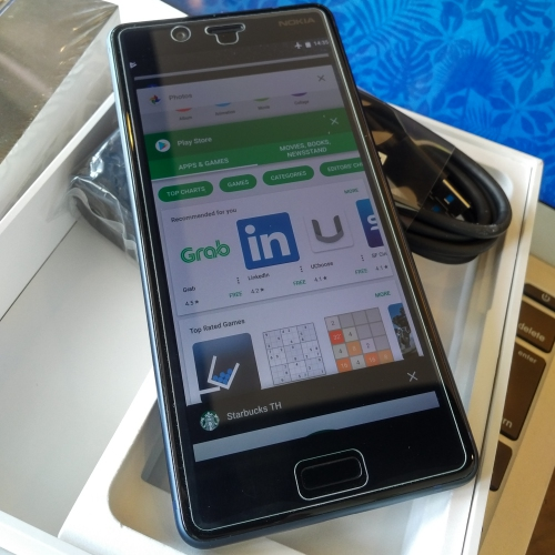 nokia-8-pure-android-review-unbox-thai-starbucks-app-store-sale-grab-uber