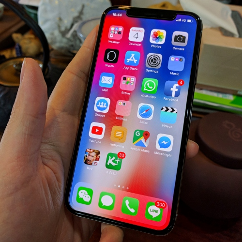 iphone-x-thai-review-home-screen-face-id-edgeless-display-ios11-cookie-blogger-cheapest