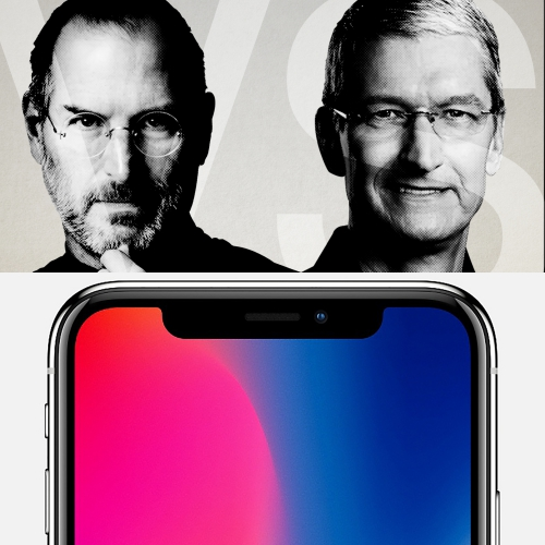 steve-jobs-vs-tim-cook-apple-inc-ceo-profit-stock-iphone-x-8-plus-noone-buy-big-phone