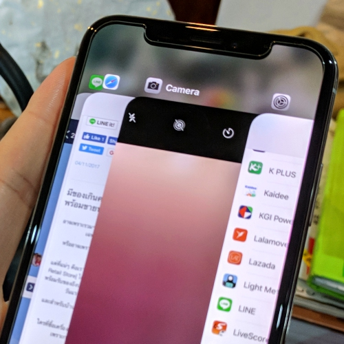 failed-sale-iphone-x-plus-xs-thai-notch-review-camera-app-bank-home-ios12