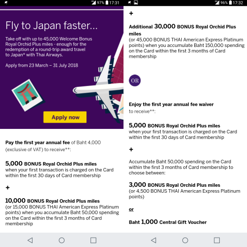 2018-amex-rop-american-express-free-miles-japan-thai-airways-45000-8000-how-to-apply-ticket-bonus