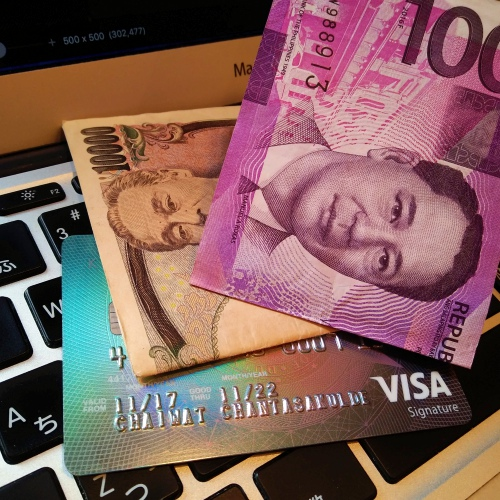 kbank-kingpower-credit-card-visa-signature-macbook-japan-note-philippines-exchange