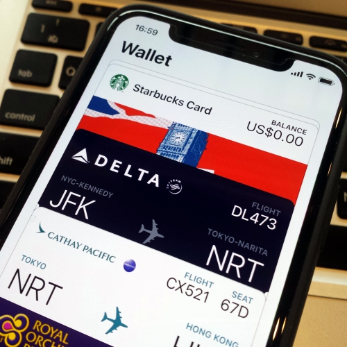 iphone-x-plus-apple-pay-thai-starbucks-card-how-to-add-rop-miles-delta-cathay-ticket-wallet