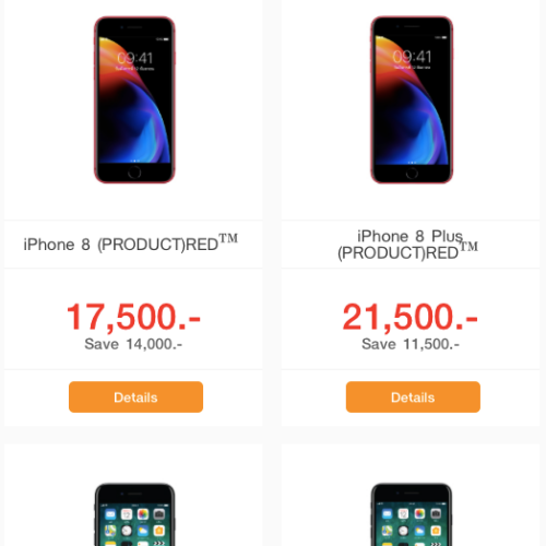 failed-sale-iphone-x-8-plus-product-red-limited-colour-new-17500-price-drop-truemove-thai