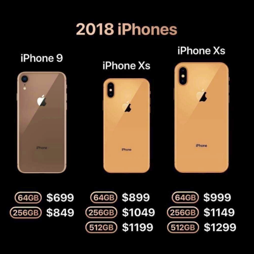 all-iphone-2018-xs-9-plus-max-price-start-64gb-cheapest-model-spec-new-colour-gold-65-inch