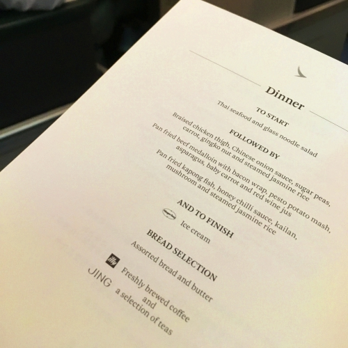 cathay-pacific-business-class-review-backpacker-5-stars-dinner-alcohol-menu