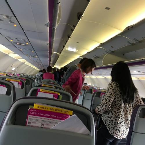 peach-airlines-review-japan-okinawa-lcc-terminal-air-hostess-seat-flight-attend