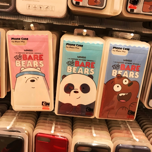 miniso-japan-fake-copycat-review-china-iphone-case-xs-max-xr-we-bare-bears-drama