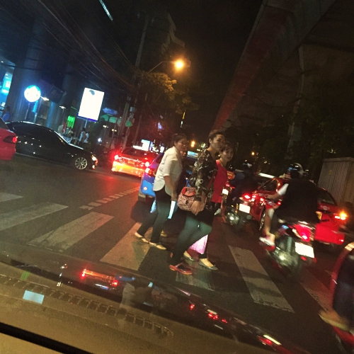 thai-zebra-crossing-car-park-night-sukhumvit-bangkok-bmw-danger-aging-society
