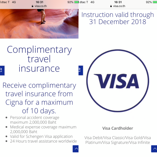 visa-credit-card-free-cigna-travel-insurance-schengen-how-to-review-claim-2019