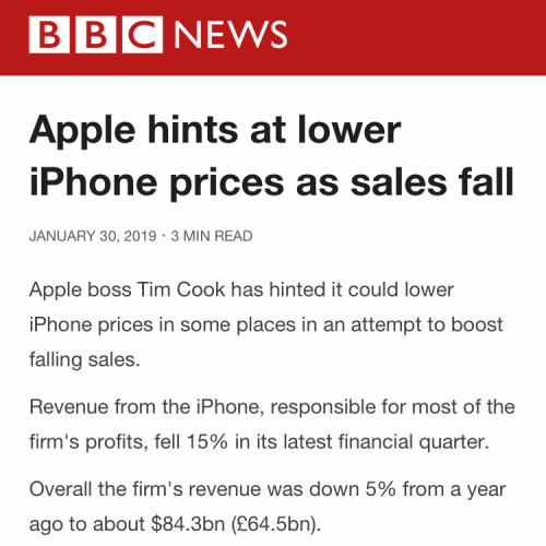 failed-sale-iphone-2018-xs-max-xr-cut-price-bbc-tim-cook-accept-downfall-exchange-rate-china-drama