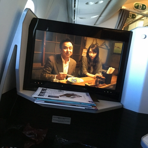 jal-japan-airlines-business-class-miles-mileage-redeem-review-shinya-shokudo-japan-girl