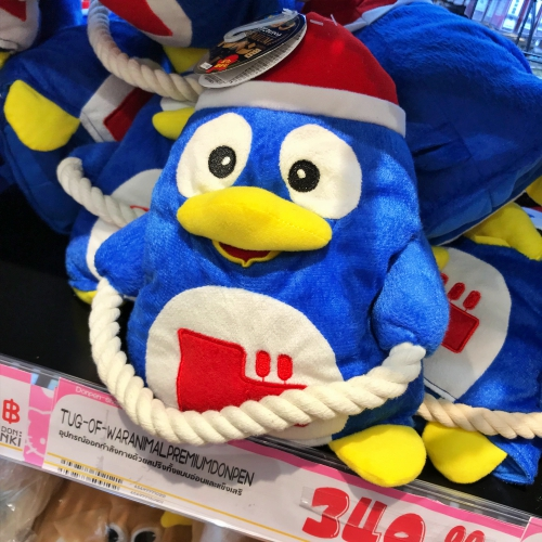 doll-penguin-donki-hote-mall-thonglor-review-queue-open-shop-imported-japan-24-hours