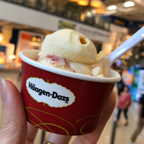 free-haagendazs-ice-cream-review-scoop-price-thai-branch-mega-bangna-kbank-credit-card-best-passion