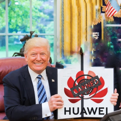 donald-trump-meme-joke-banned-huawei-china-vs-usa-trade-wars-android-arm-chipset