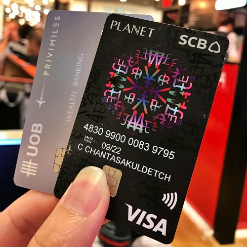 scb-planet-review-debit-vs-credit-card-mileage-uob-wealth-privimiles-exchange-rate-better-japan