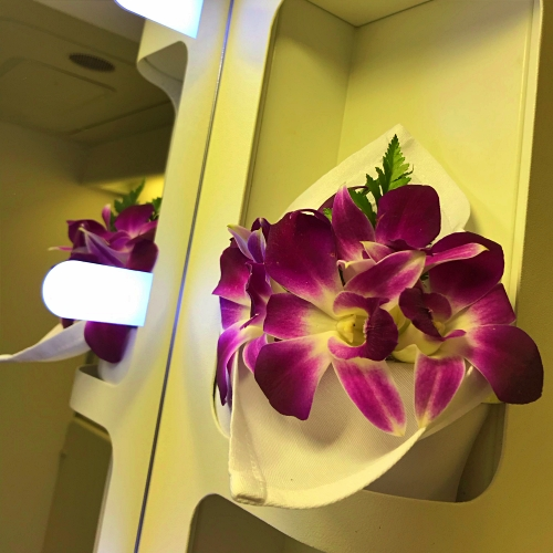 tg-thai-airways-first-class-review-747-tokyo-japan-blogger-sponsor-seat-lavatory-orchid